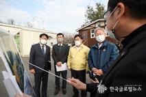 """경기도 이재명지사 """"산지훼손으로 주민 삶 만족도 하락 심각. 계획적 개발 필요"""""""