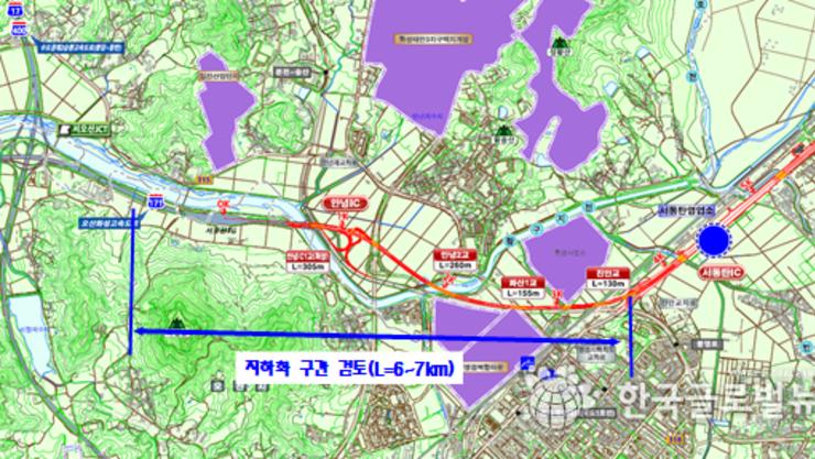 서철모 화성시장, '오산~용인 고속도로 화성시 구간 지하화' 청와대에  재검토 건의